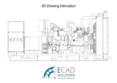 3D Drawing Derivation